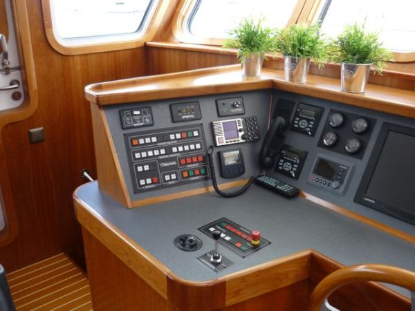 port side helm console