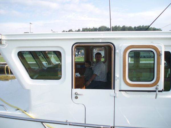 Dutch pilothouse doors