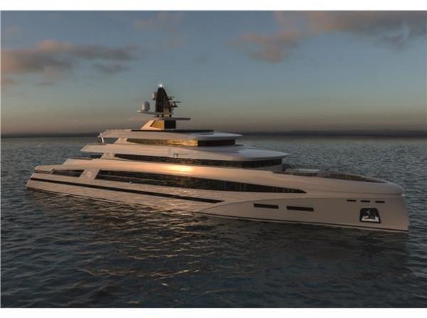 Rosetti Superyachts 85m Spadolini Super Yacht