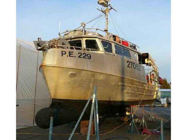 Commercial Prawn Shrimp Boat And Licence