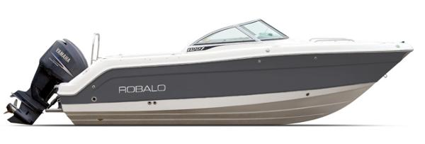 Robalo R227 Dual Console ON ORDER - SHARK GRAY
