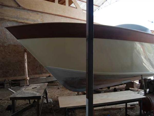 Motorsailer Project Side view