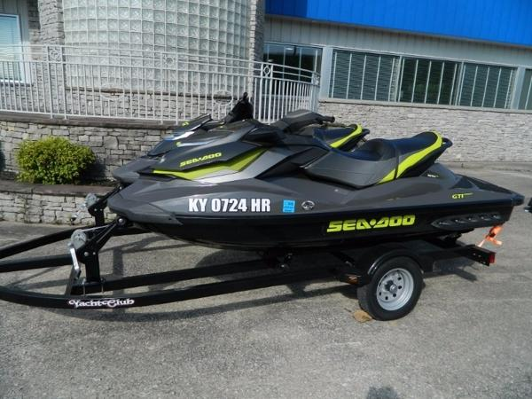 Sea-Doo GTX Limited 215 & GTI Limited 155 on Trailer