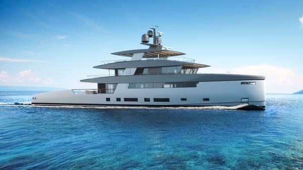 Rosetti Superyachts 50m Ceccarelli Supply Vessel
