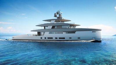 Rosetti Superyachts 50m Ceccarelli Supply Vessel
