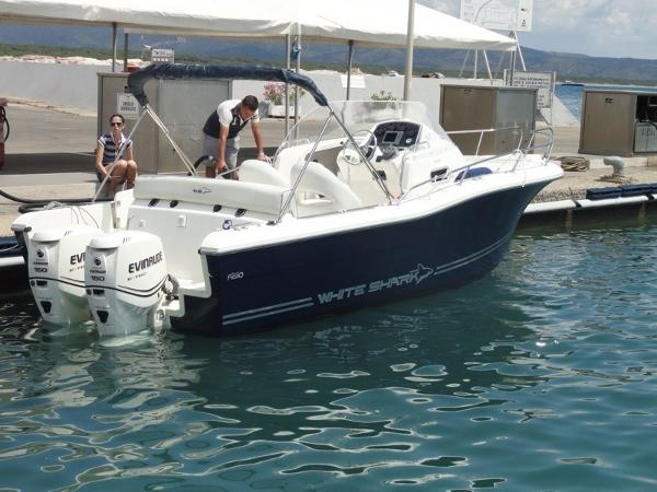 White Shark 248 SUNDECK