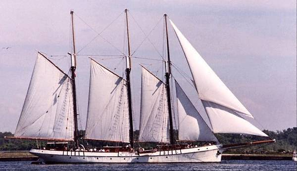 Tall Ship Passenger Vessel - Sailing Ship