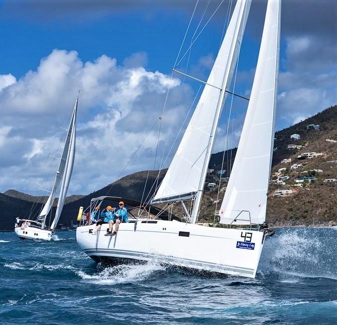 Hanse 415 Under Sail