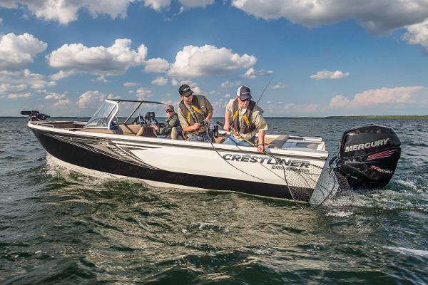 Crestliner 2150 Sportfish Outboard