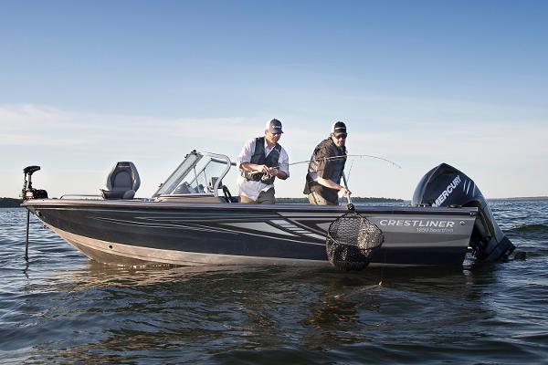 Crestliner 1850 Sportfish Outboard