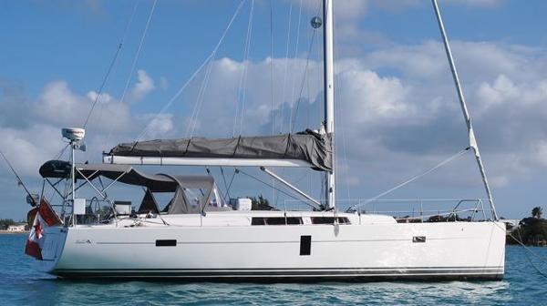 Hanse 445 At sea