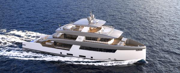 Rosetti Superyachts 35m Ceccarelli Supply Vessel