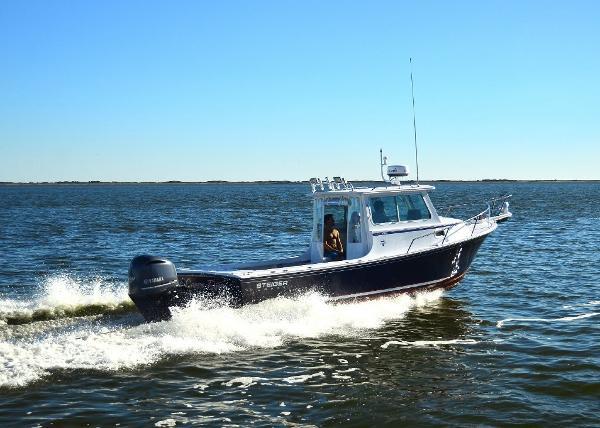 STEIGER CRAFT 255 Deep V Miami Starboard Profile