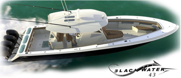 Blackwater Boats 43 TE 43 Tournament Edition