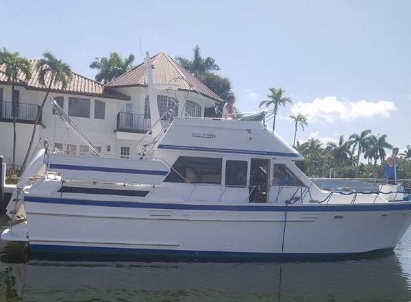 Jefferson 42 SE Sundeck Motor Yacht 42 Jefferson Sundeck Trawler 1987