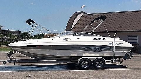 Larson Escape 254 Deck Boat 2007 Larson 254 Escape for sale in Gainesville, FL