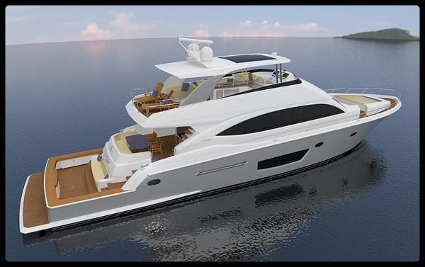 Viking Mouldings 82 Cockpit Motor Yacht