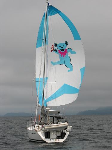 Beneteau 393 Sailing Off The Wind