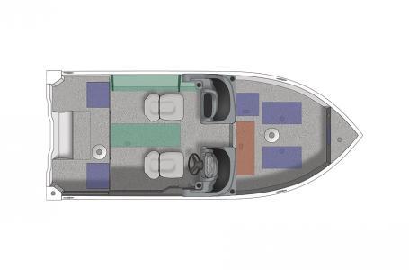 Crestliner 1600 Vision-Mercury 60hp