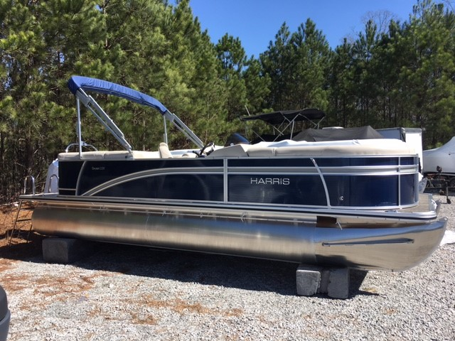 Harris Flotebote Cruiser 220 CWDH - PONTOON