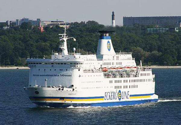 Ferry Cruising Ship