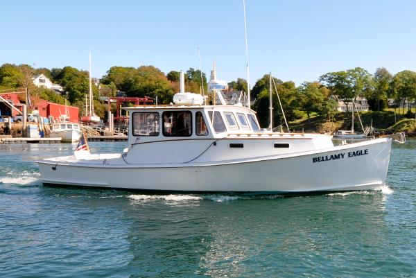 West Bay Jim Beal Hardtop Fisherman West Bay - Jim Beal 31 Hardtop Fisherman - Bellamy Eagle - Under Power