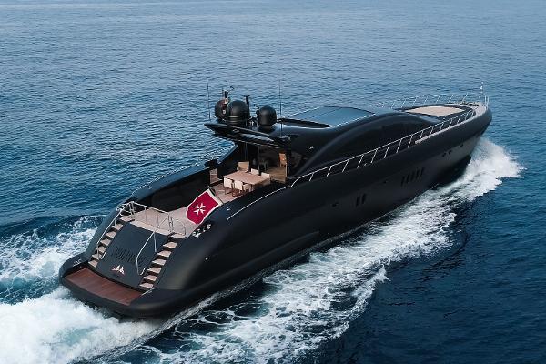 Mangusta 108 (Overmarine) M/Y Neoprene Mangusta 108
