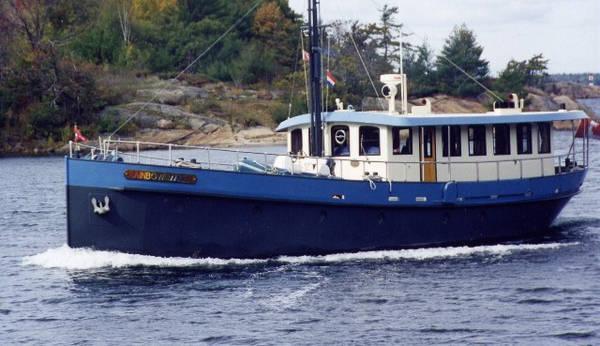 Steel/Aluminum Trawler Yacht