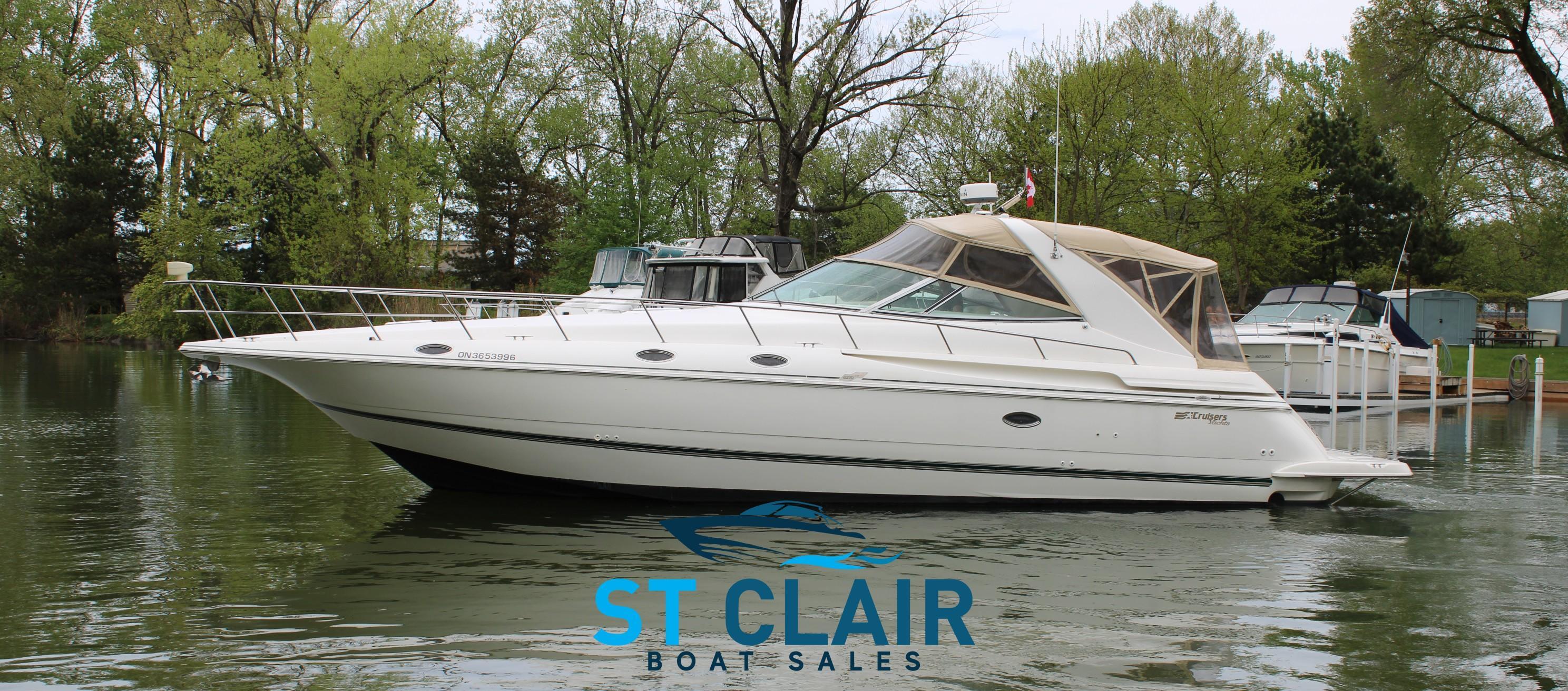 1997 Cruisers Yachts 4270 Express Sarnia Ontario Boats Com