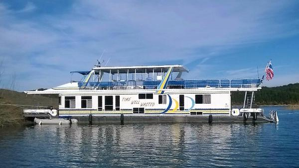 Sharpe 18' x 84' Houseboat