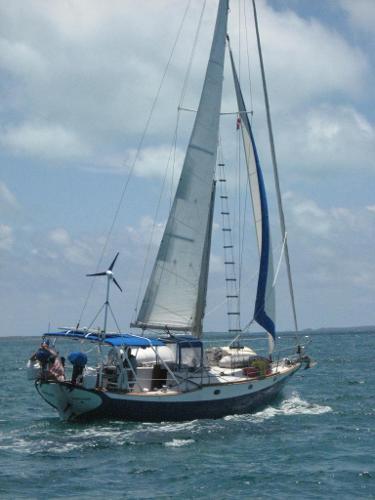 Ericson 36 Cruising Cutter Classic sailing vessel!