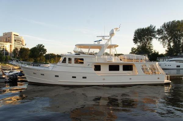 Fleming 65 Pilothouse Port profile