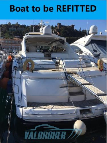 Princess V65 bOAT TO BE REFITTED PRINCESS V65