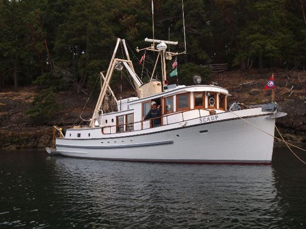 Ed Monk Sr. Trawler On the Hook