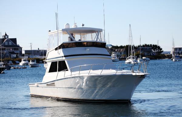 Viking 45 Convertible Plan C starboard bow profile