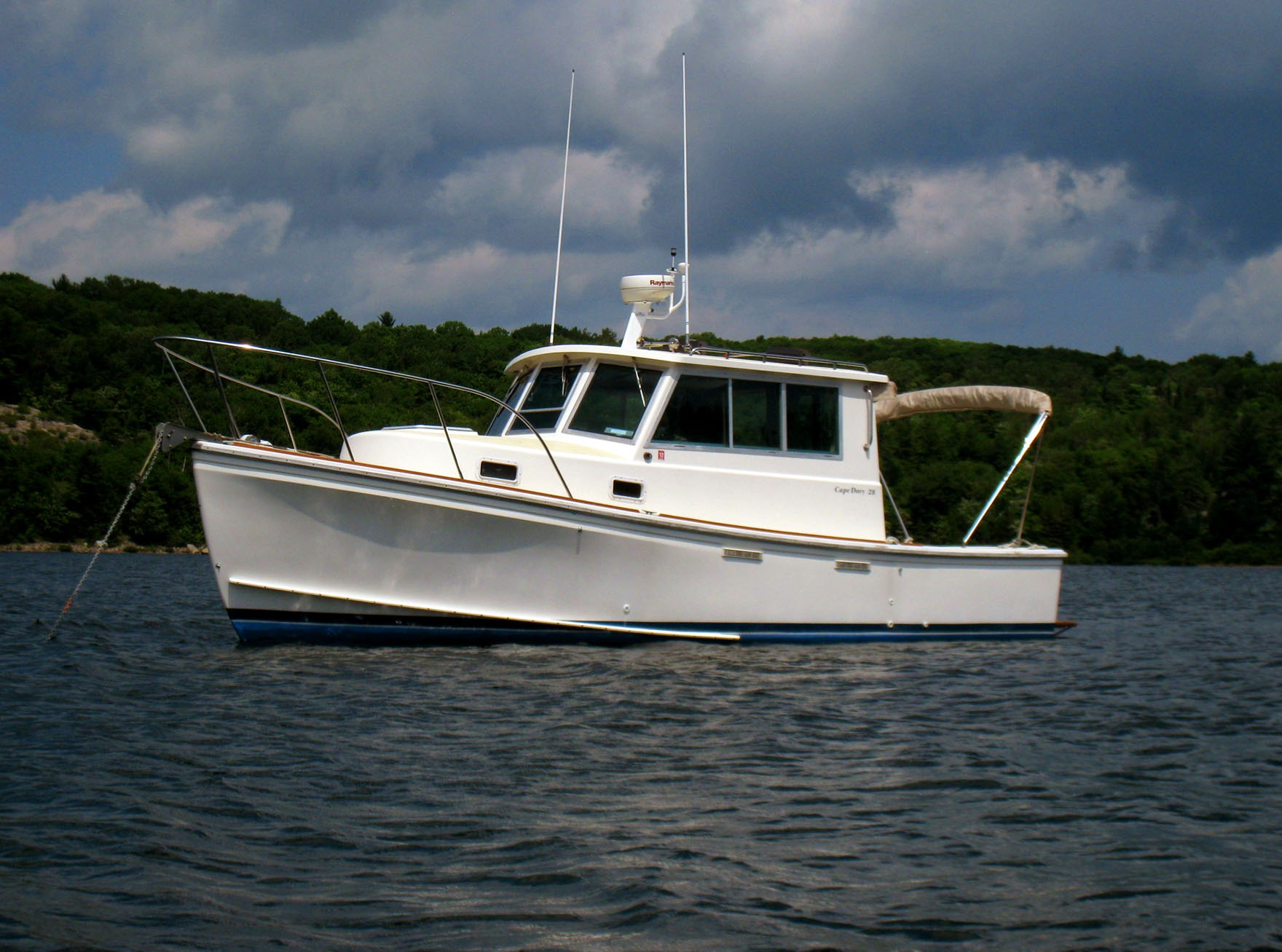 Cape Dory Hard Top Cruiser