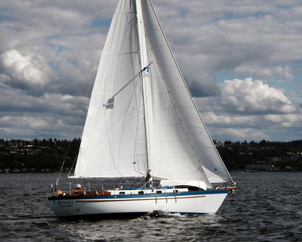 Ted Brewer Jason 35 Sails near new