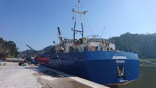 Cargo Ship JH Van Eijk and Zonen