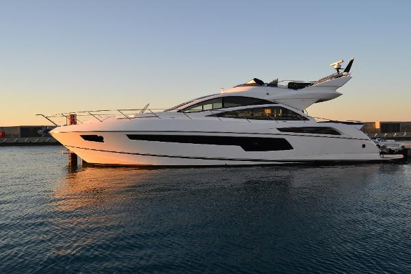 Sunseeker 68 Sport Yacht Side Profile