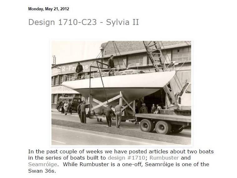 Ateliers et Chantiers ZIEGLER Freres DUNKERQUE Clasico madera Sparkman &Stephens 36'