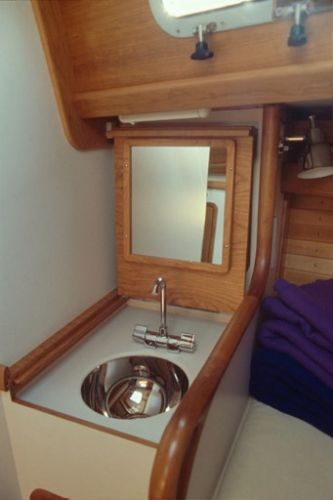 Forward Cabin Sink