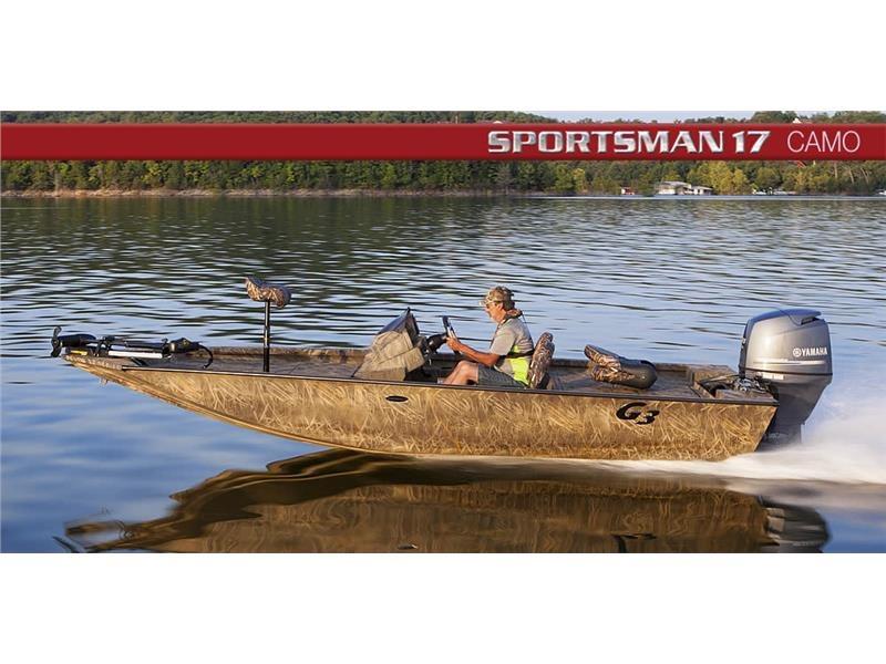 G3 Boats Sportsman 17 Camo BU