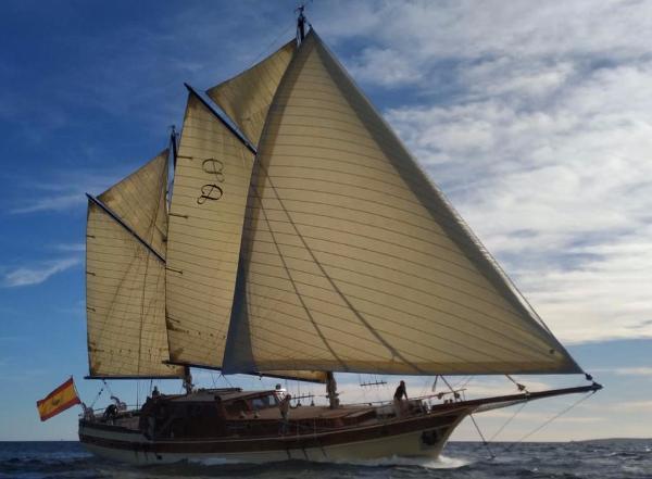 Gulet Sailing Luxus Segelyacht zu verkaufen