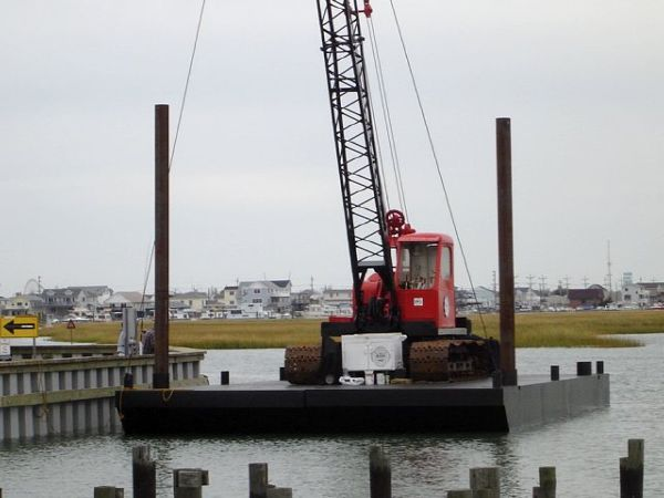 Commercial Sectional Barges