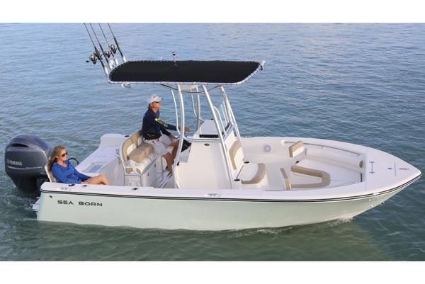 Sea Born LX21 Center Console Manufacturer Provided Image