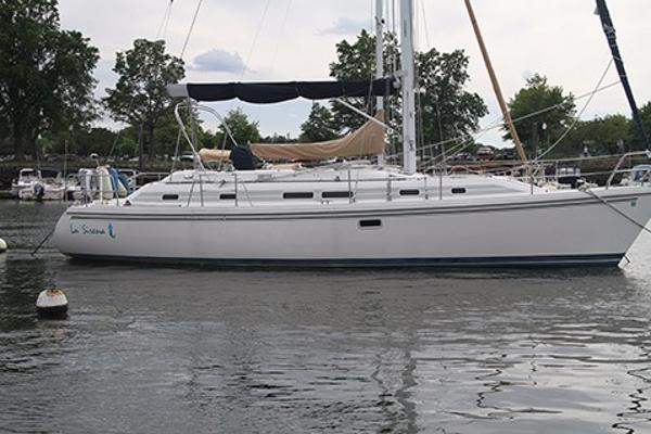Catalina Morgan 381 Profile