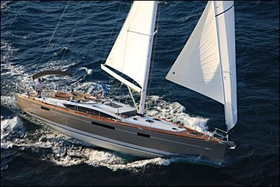 Jeanneau 58 Under Sail