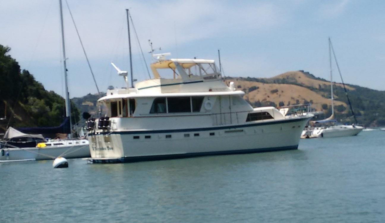 Hatteras Extended Deck Motoryacht