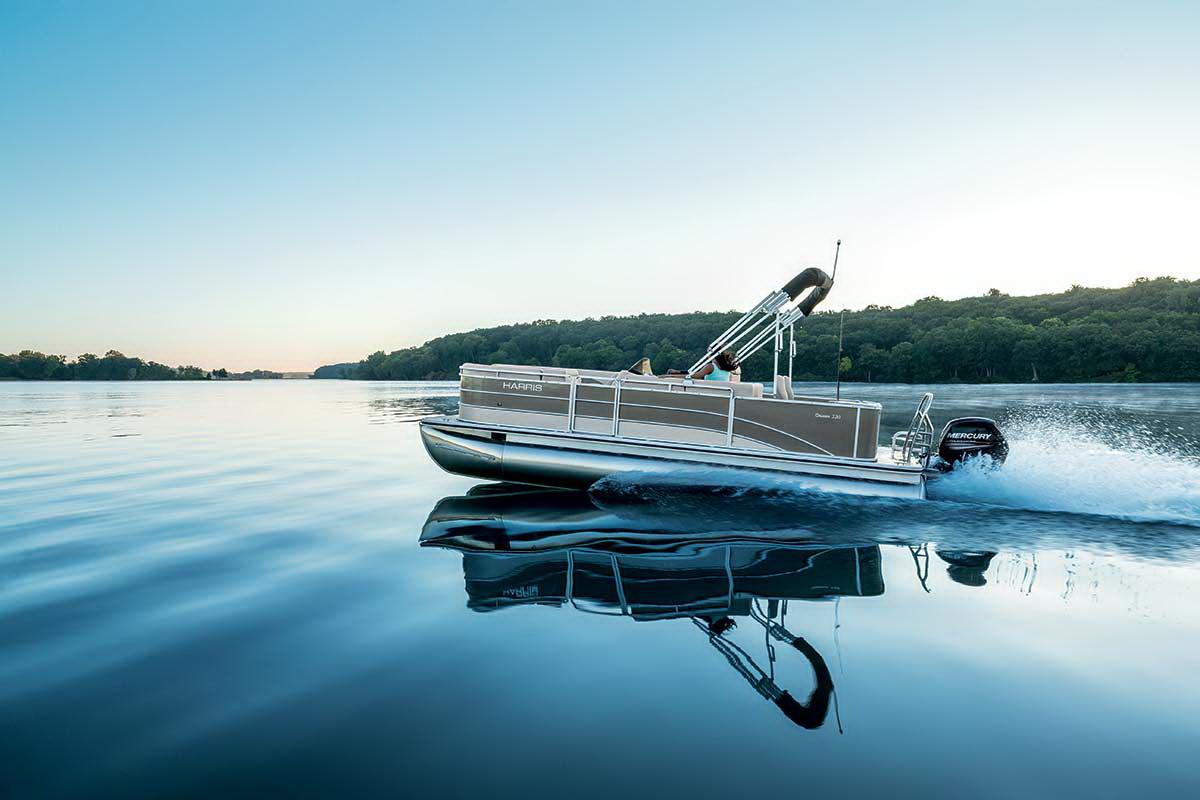 Harris Flotebote Cruiser 240 CWDH - TRITOON