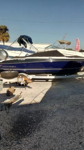 Monterey 197FS starboard profile